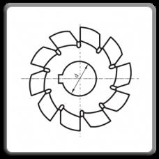Freze disc modul m = 1...20 mm