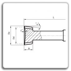 Cutit roata tip III-cu coada
