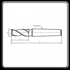 Freze cilindro-frontala cu coada conica