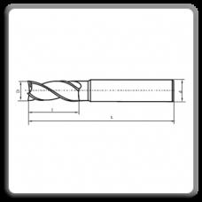 Freze cilindro-frontala cu coada cilindrica