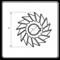 Freze unghiulare simetrice