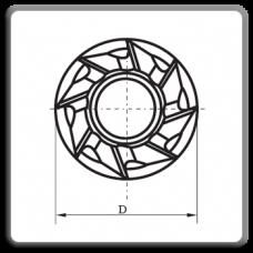 Freze cilindro-frontale