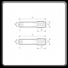 SET 2 tarozi pentru filet metric pas fin MP DIN 2181 N D, C