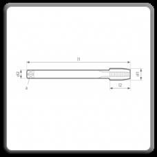 Tarozi lungi de masina pentru filet metric pas normal M DIN 376 N A