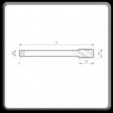 Tarozi lungi de masina pentru filet metric pas normal M DIN 376 N 35 C