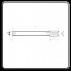 Tarozi lungi de masina pentru filet metric pas fin MP DIN 374 N C