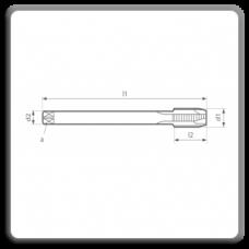 Tarozi lungi de masina pentru filet metric pas fin MP DIN 374 N B