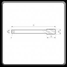 Tarozi lungi de masina pentru filet metric pas fin MP DIN 374 N 35 C