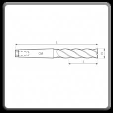 Freze de canelat - Freze cilindro frontale cu coada conica DIN 845 N BL