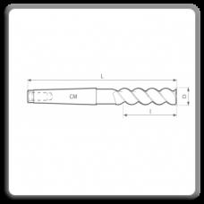 Freze de canelat - Freze cilindro frontale cu coada conica DIN 845 W BL
