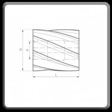 Freze cilindro-frontale cu alezaj DIN 884 H