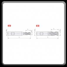 Freze CMS lungi F213 - F413 cu prindere Weldon