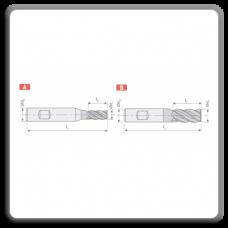 Freze CMS lungi F214 - F414 cu prindere Weldon