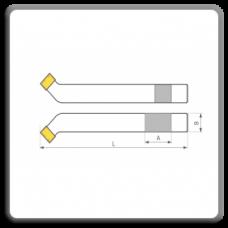Cutite de strung incovoiate cu placute CMS brazate pentru degrosare DIN 4972