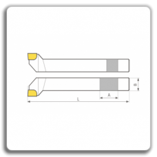 Cutite de strung laterale cu placuteCMS brazate DIN 4980
