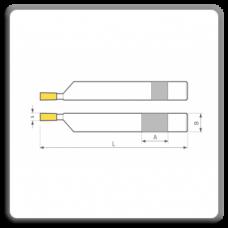 Cutite de strung pentru canelat cu placute CMS brazate DIN 4981