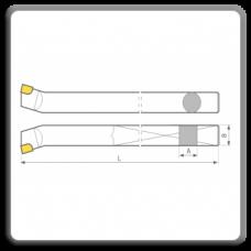 Cutite de strung pentru interior cu placute CMS brazate DIN 4973