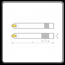 Cutite de strung pentru finisat cu placuteCMS brazate DIN 4975