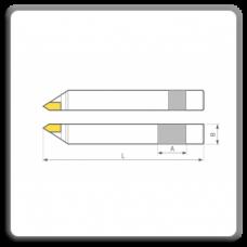 Cutite de strung cu placute CMS brazate pentru filet metric exterior DIN 282